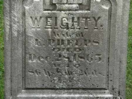 PHELPS, WEIGHTY - Lorain County, Ohio | WEIGHTY PHELPS - Ohio Gravestone Photos