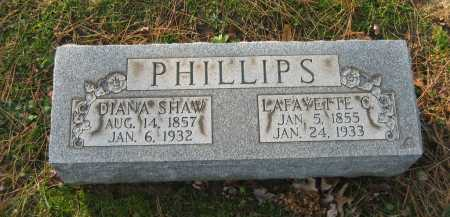 PHILLIPS, LAFAYETTE - Lorain County, Ohio | LAFAYETTE PHILLIPS - Ohio Gravestone Photos