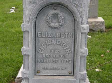 PICKWORTH, ELIZABETH - Lorain County, Ohio | ELIZABETH PICKWORTH - Ohio Gravestone Photos