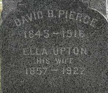PIERCE, DAVID B. - Lorain County, Ohio | DAVID B. PIERCE - Ohio Gravestone Photos