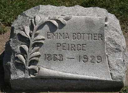 PIERCE, EMMA - Lorain County, Ohio | EMMA PIERCE - Ohio Gravestone Photos