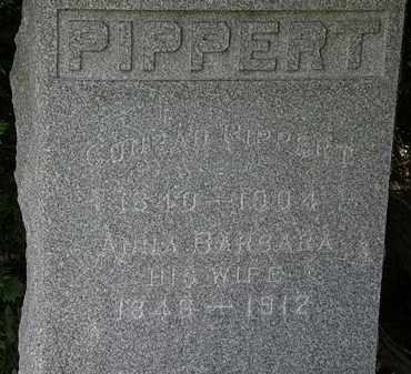 PIPPERT, CONRAD - Lorain County, Ohio | CONRAD PIPPERT - Ohio Gravestone Photos