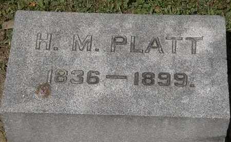 PLATT, H.M. - Lorain County, Ohio | H.M. PLATT - Ohio Gravestone Photos