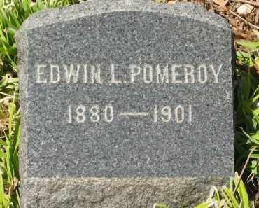POMEROY, EDWIN L. - Lorain County, Ohio | EDWIN L. POMEROY - Ohio Gravestone Photos