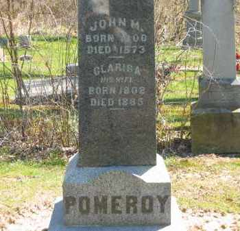 POMEROY, JOHN M. - Lorain County, Ohio | JOHN M. POMEROY - Ohio Gravestone Photos