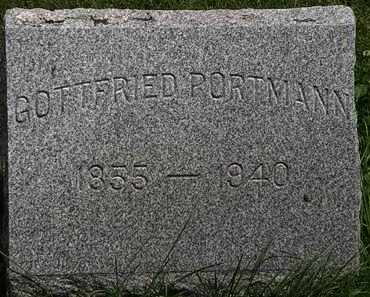 PORTMAN, GOTTFRIED - Lorain County, Ohio | GOTTFRIED PORTMAN - Ohio Gravestone Photos