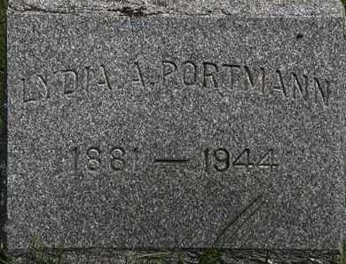 PORTMAN, LYDIA A. - Lorain County, Ohio | LYDIA A. PORTMAN - Ohio Gravestone Photos