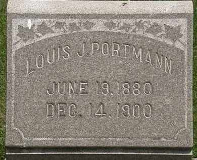 PORTMAN, LOUIS - Lorain County, Ohio | LOUIS PORTMAN - Ohio Gravestone Photos