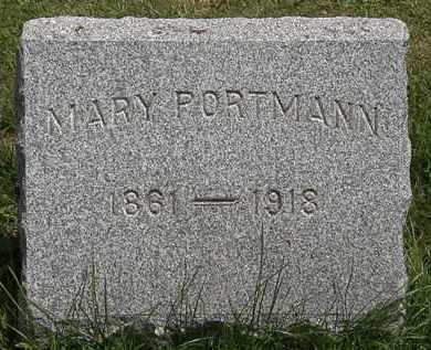 PORTMAN, MARY - Lorain County, Ohio | MARY PORTMAN - Ohio Gravestone Photos