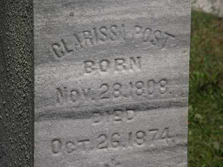 POST, CLARISSA - Lorain County, Ohio | CLARISSA POST - Ohio Gravestone Photos