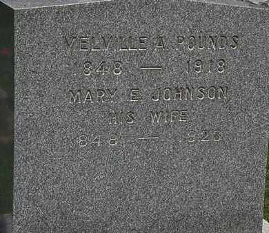 JOHNSON POUNDS, MARY E. - Lorain County, Ohio | MARY E. JOHNSON POUNDS - Ohio Gravestone Photos