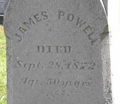 POWELL, JAMES - Lorain County, Ohio | JAMES POWELL - Ohio Gravestone Photos