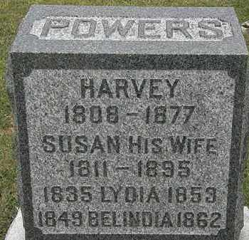 POWERS, HARVEY - Lorain County, Ohio | HARVEY POWERS - Ohio Gravestone Photos