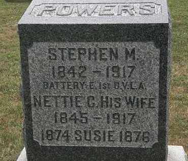 POWERS, STEPHEN M. - Lorain County, Ohio | STEPHEN M. POWERS - Ohio Gravestone Photos