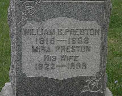 PRESTON, MIRA - Lorain County, Ohio | MIRA PRESTON - Ohio Gravestone Photos