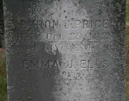 ELLS PRICE, EMMA J. - Lorain County, Ohio | EMMA J. ELLS PRICE - Ohio Gravestone Photos