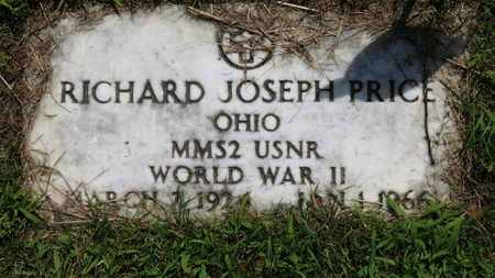 PRICE, RICHARD JOSEPH - Lorain County, Ohio | RICHARD JOSEPH PRICE - Ohio Gravestone Photos