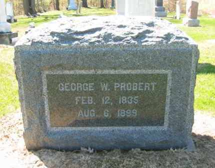 PROBERT, GEORGE W. - Lorain County, Ohio | GEORGE W. PROBERT - Ohio Gravestone Photos