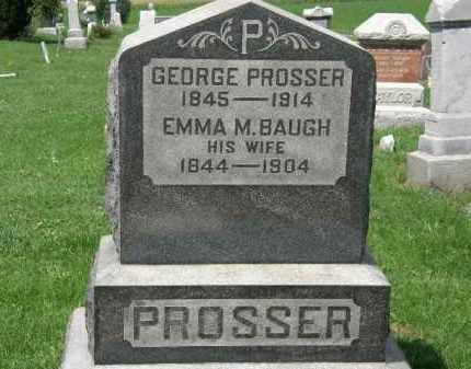 PROSSER, GEORGE - Lorain County, Ohio | GEORGE PROSSER - Ohio Gravestone Photos