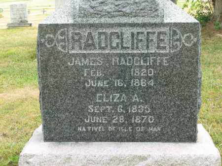 RADCLIFFE, ELIZA A. - Lorain County, Ohio | ELIZA A. RADCLIFFE - Ohio Gravestone Photos