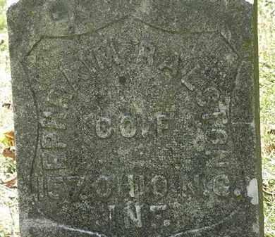 RALSTON, EPHRAIM - Lorain County, Ohio | EPHRAIM RALSTON - Ohio Gravestone Photos