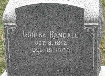 RANDALL, LOUISA - Lorain County, Ohio | LOUISA RANDALL - Ohio Gravestone Photos