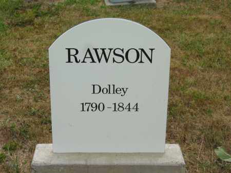 RAWSON, DOLLEY - Lorain County, Ohio | DOLLEY RAWSON - Ohio Gravestone Photos