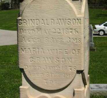 RAWSON, GRINDAL - Lorain County, Ohio | GRINDAL RAWSON - Ohio Gravestone Photos