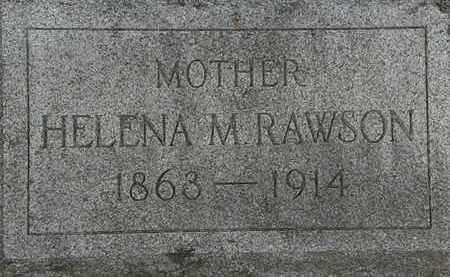 RAWSON, HELENA M. - Lorain County, Ohio | HELENA M. RAWSON - Ohio Gravestone Photos