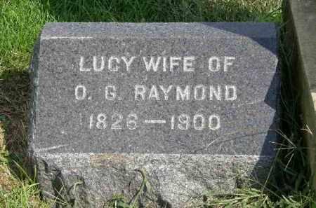 RAYMOND, LUCY - Lorain County, Ohio | LUCY RAYMOND - Ohio Gravestone Photos