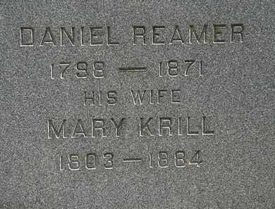 REAMER, MARY - Lorain County, Ohio | MARY REAMER - Ohio Gravestone Photos