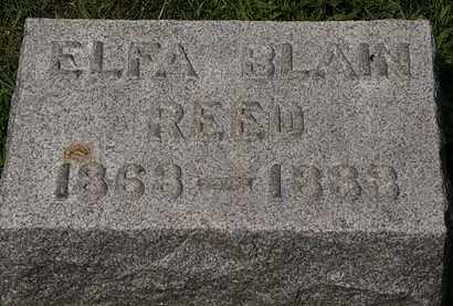 REED, ELFA BLAIN - Lorain County, Ohio | ELFA BLAIN REED - Ohio Gravestone Photos