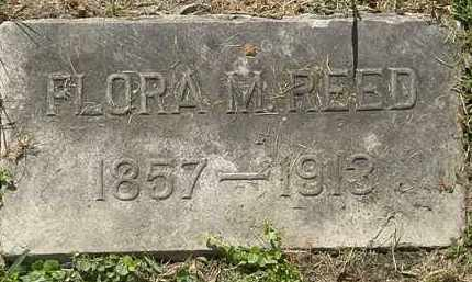 REED, FLORA - Lorain County, Ohio   FLORA REED - Ohio Gravestone Photos