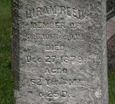REED, HIRAM - Lorain County, Ohio | HIRAM REED - Ohio Gravestone Photos