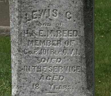 REED, LEWIS G. - Lorain County, Ohio | LEWIS G. REED - Ohio Gravestone Photos