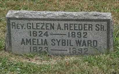 REEDER, AMELIA SYBIL - Lorain County, Ohio | AMELIA SYBIL REEDER - Ohio Gravestone Photos