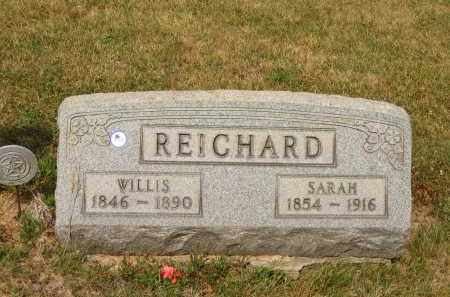 REICHARD, WILLIS - Lorain County, Ohio | WILLIS REICHARD - Ohio Gravestone Photos