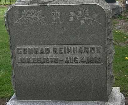 REINHARDT, CONRAD - Lorain County, Ohio | CONRAD REINHARDT - Ohio Gravestone Photos