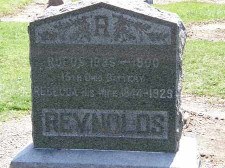 REYNOLDS, REBECCA - Lorain County, Ohio | REBECCA REYNOLDS - Ohio Gravestone Photos