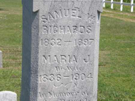RICHARDS, SAMUEL W. - Lorain County, Ohio | SAMUEL W. RICHARDS - Ohio Gravestone Photos