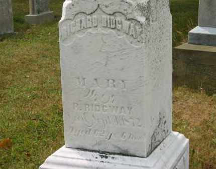 RIDGWAY, MARY - Lorain County, Ohio | MARY RIDGWAY - Ohio Gravestone Photos