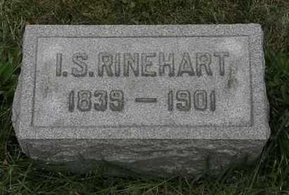 RINEHART, I.S. - Lorain County, Ohio | I.S. RINEHART - Ohio Gravestone Photos