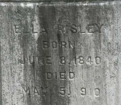 RISLEY, ELLA - Lorain County, Ohio | ELLA RISLEY - Ohio Gravestone Photos