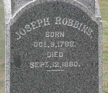 ROBBINS, JOSEPH - Lorain County, Ohio | JOSEPH ROBBINS - Ohio Gravestone Photos