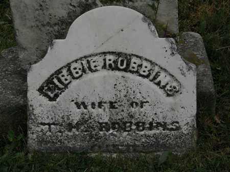 ROBBINS, LIBBIE - Lorain County, Ohio | LIBBIE ROBBINS - Ohio Gravestone Photos