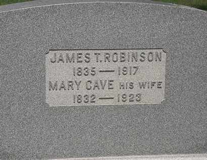 ROBINSON, JAMES T. - Lorain County, Ohio | JAMES T. ROBINSON - Ohio Gravestone Photos
