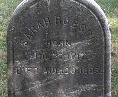 ROBSON, SARAH - Lorain County, Ohio | SARAH ROBSON - Ohio Gravestone Photos