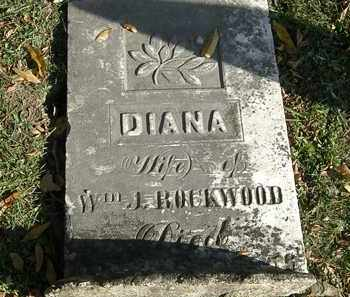 ROCKWOOD, DIANA - Lorain County, Ohio | DIANA ROCKWOOD - Ohio Gravestone Photos