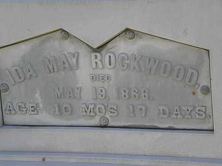 ROCKWOOD, IDA MAY - Lorain County, Ohio | IDA MAY ROCKWOOD - Ohio Gravestone Photos