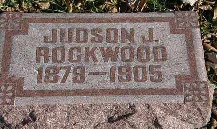 ROCKWOOD, JUDSON J. - Lorain County, Ohio | JUDSON J. ROCKWOOD - Ohio Gravestone Photos